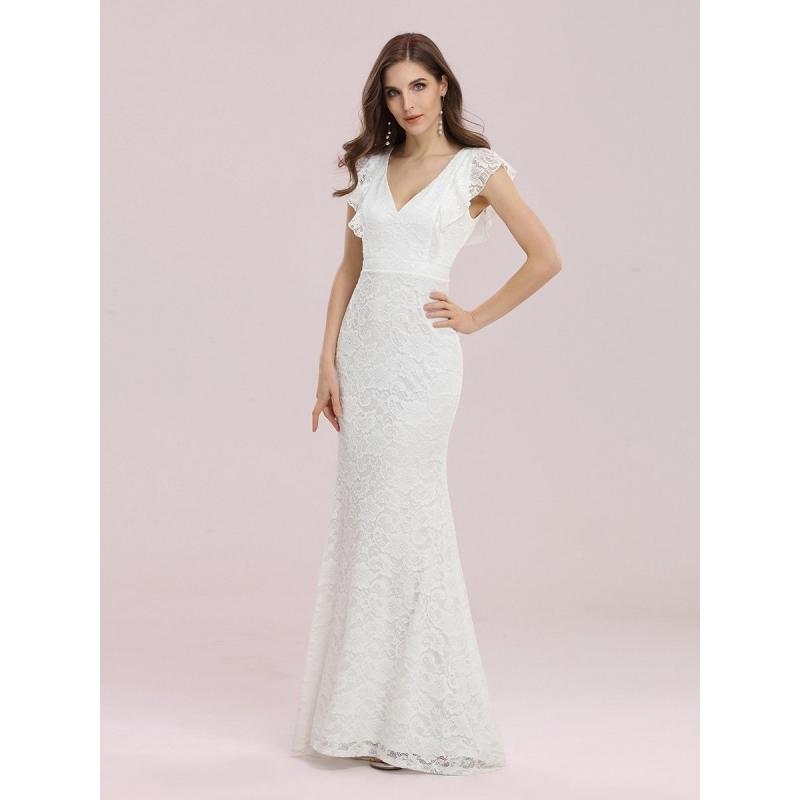 Eva 2029 hvid havfrue brudekjole